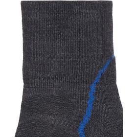 Icebreaker Hike+ Light Mini Socks Herren jet hthr/cadet/black